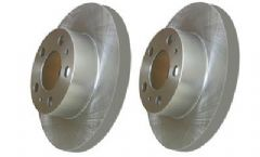 Volvo 200, 240, 260 (75-87) (with solid discs) Front Brake Discs (Pair)
